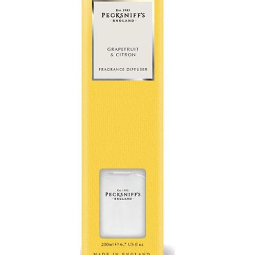 Pecksniffs Classic 200ml Diffuser Grapefruit & Citron