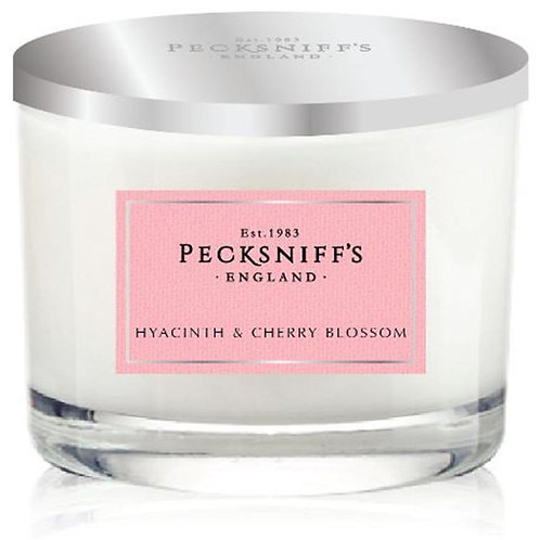 Pecksniffs Spring/Summer 1W Candle Hyacinth & Cherry Blossom