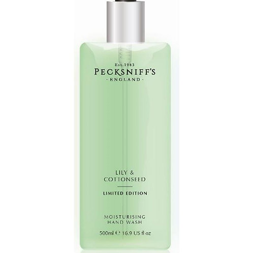Pecksniffs Spring/Summer 500ml Hand Wash Lily & Cottonseed
