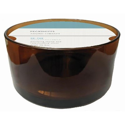 Pecksniffs Aromatherapy Amber 5W Candle De-Tox
