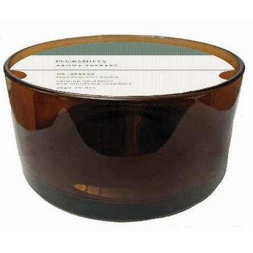 Pecksniffs Aromatherapy Amber 5W Candle De-Stress