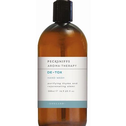 Pecksniffs Aromatherapy 500ml Hand Wash De-Tox