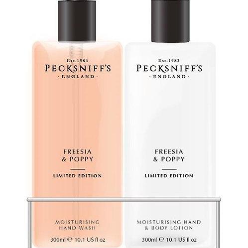 Pecksniffs Spring/Summer 300ml Caddy Freesia & Poppy