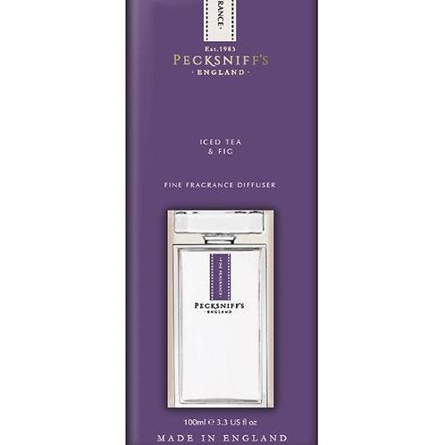 Pecksniffs Prestige 100ml Square Diffuser Iced Tea & Fig
