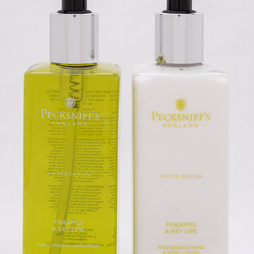 Pecksniffs Spring/Summer 300ml Caddy Pineapple & Key Lime