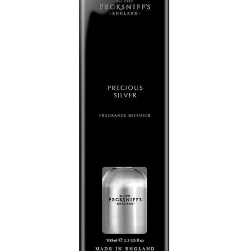 Pecksniffs Jewel 100ml Diffuser Precious Silver
