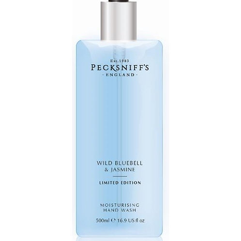 Pecksniffs Spring/Summer 500ml Hand Wash Wild Bluebell & Jasmine