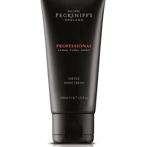 Pecksniffs Mens 200ml Shave Cream Professional