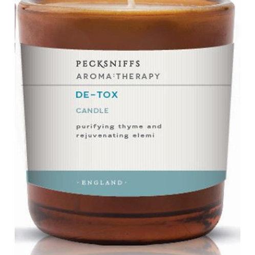 Pecksniffs Aromatherapy Amber Mini 1W Candle De-Tox