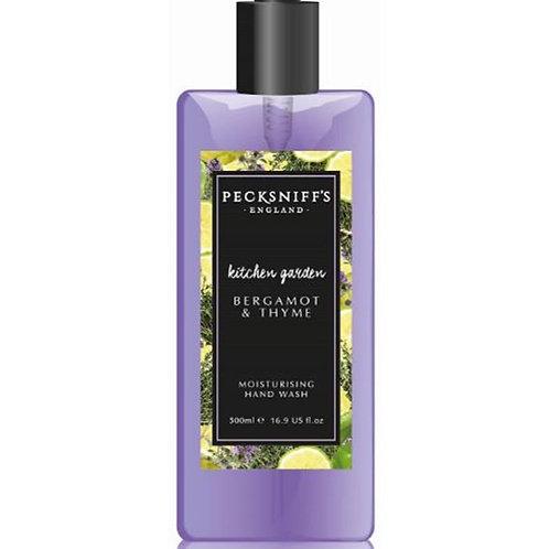Pecksniffs Kitchen Garden 500ml Hand Wash Bergamot & Thyme