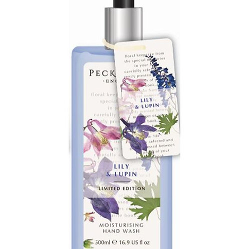 Pecksniffs Vintage Posies 500ml Hand Wash Lily & Lupin