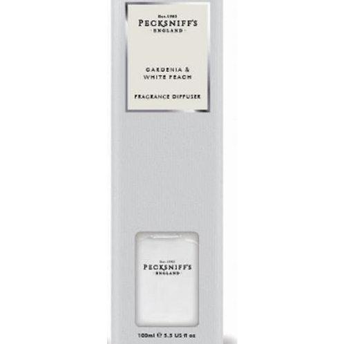 Pecksniffs Classic 100ml Diffuser Gardenia & White Peach