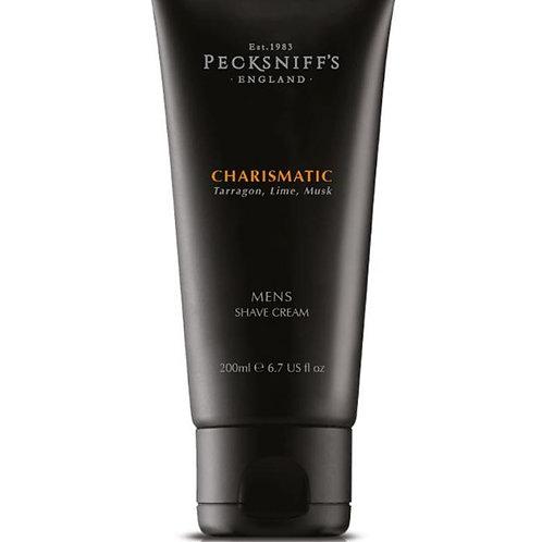 Pecksniffs Mens 200ml Shave Cream Charismatic