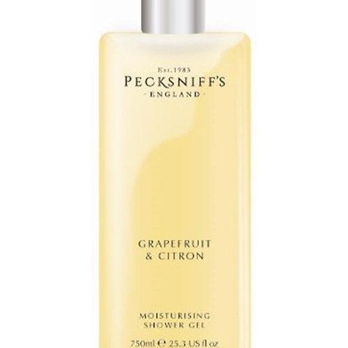 Pecksniffs Classic 750ml Shower Gel Grapefruit & Citron