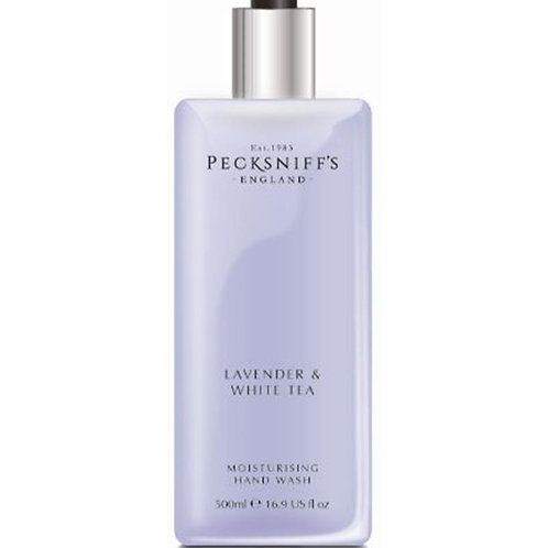 Pecksniffs Classic 500ml Hand Wash Lavender & White Tea
