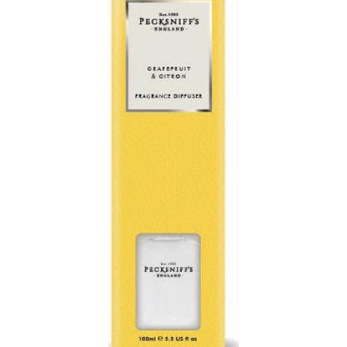 Pecksniffs Classic 100ml Diffuser Grapefruit & Citron