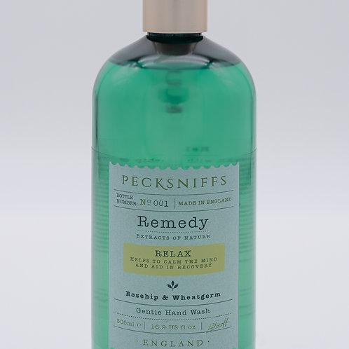 Pecksniffs Remedy 500ml Hand Wash Relax