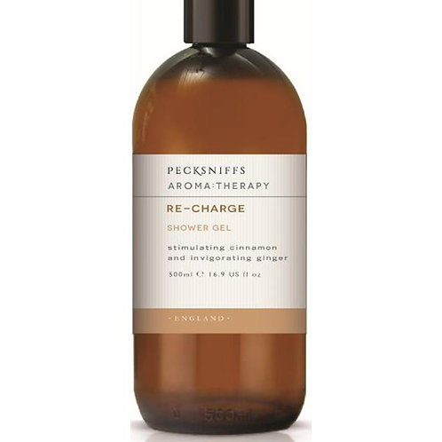 Pecksniffs Aromatherapy 500ml Shower Gel Re-Charge