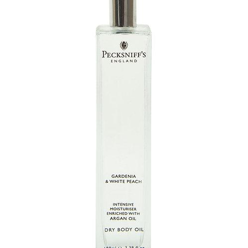 Pecksniffs Classic 100ml Body Oil Gardenia & White Peach