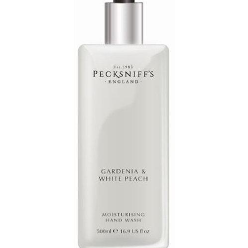 Pecksniffs Classic 500ml Hand Wash Gardenia & White Peach