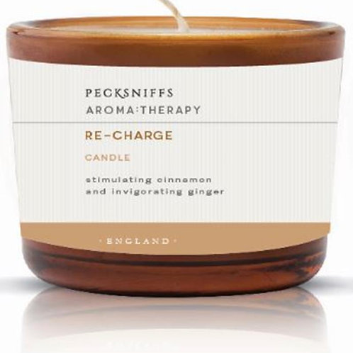 Pecksniffs Aromatherapy Amber 3W Candle Re-Charge