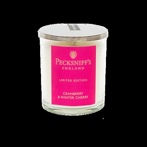 Pecksniffs Autumn/Winter Mini 1W Candle Cranberry & Winter Cherry