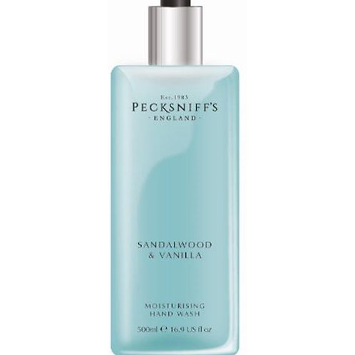Pecksniffs Classic 500ml Hand Wash Sandalwood & Vanilla