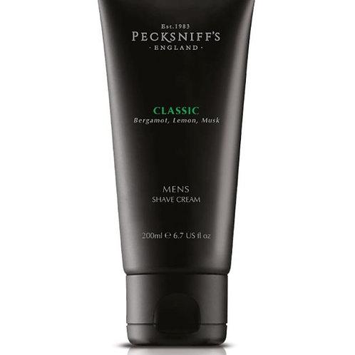Pecksniffs Mens 200ml Shave Cream Classic