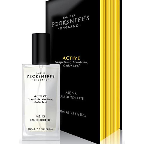 Pecksniffs Mens 100ml EDT Active
