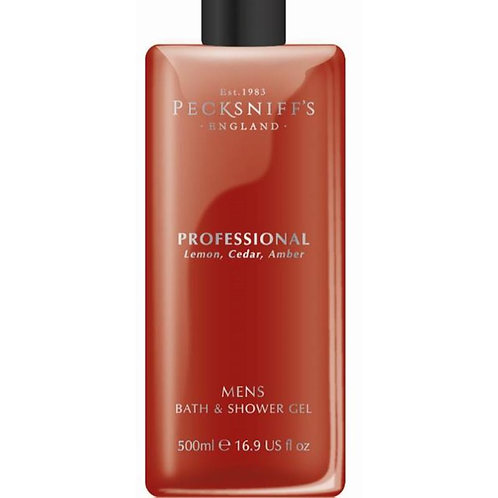 Pecksniffs Mens 500ml Bath & Shower Gel Professional