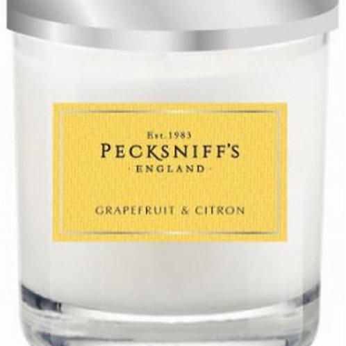 Pecksniffs Classic Tall 3W Candle Grapefruit & Citron