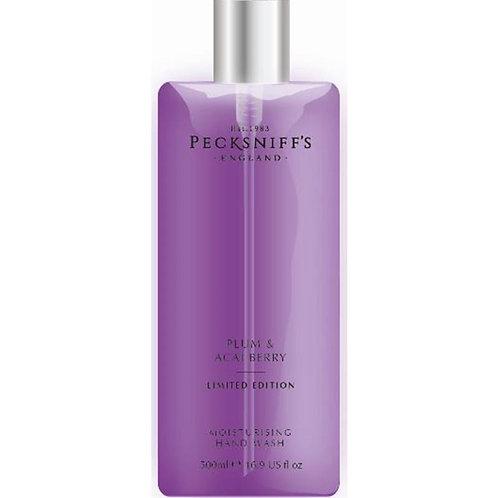 Pecksniffs Spring/Summer 500ml Hand Wash Plum & Acai Berry