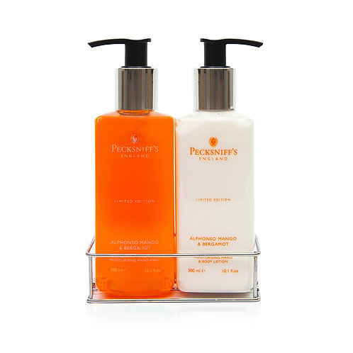 Pecksniffs Spring/Summer 300ml Caddy Alphonso Mango & Bergamot
