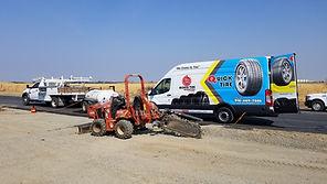 Mobile Fleet tire repair