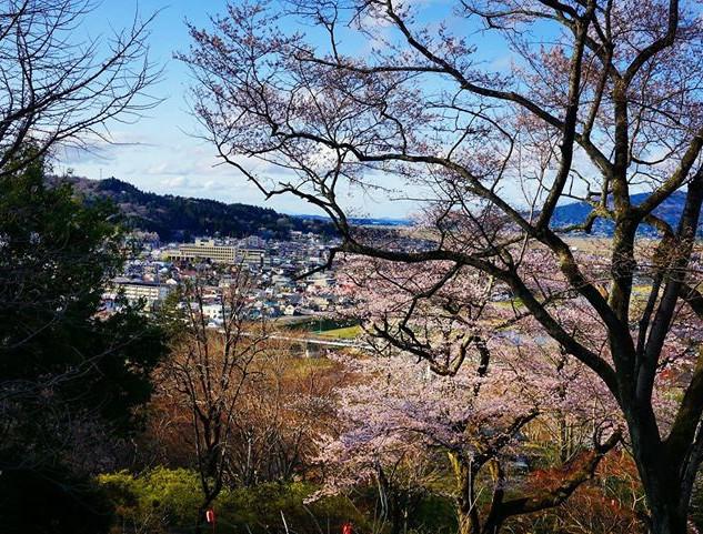 Ichinoseki from Tsuriyama