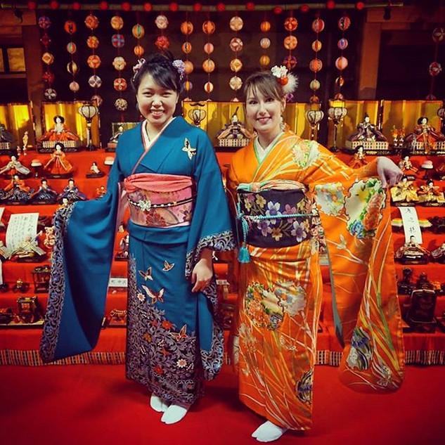 Beautiful Hinamatsuri event in Senmaya,