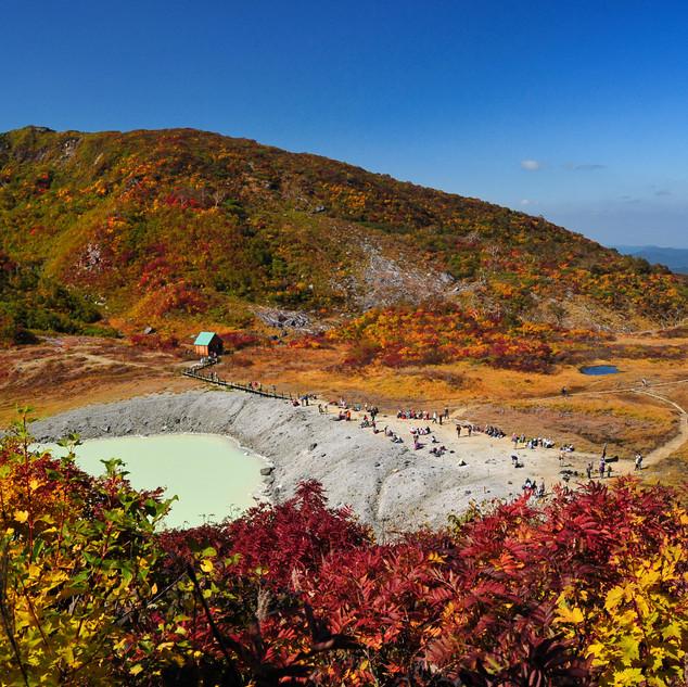Mt Kurikoma - Lake Showa