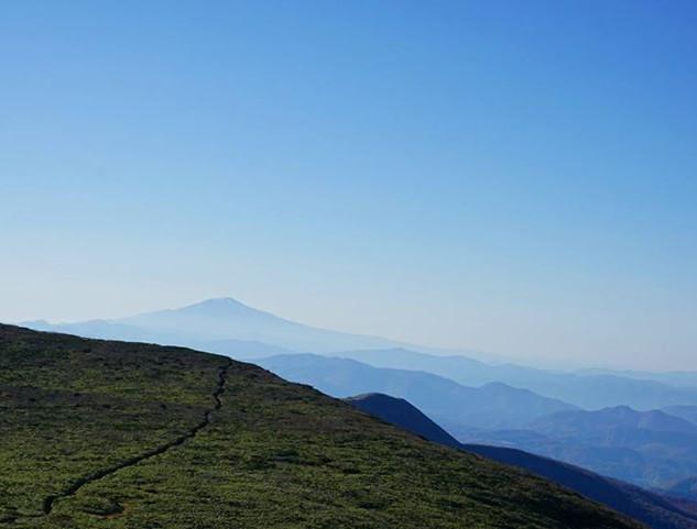 View from Mt. Kurikoma