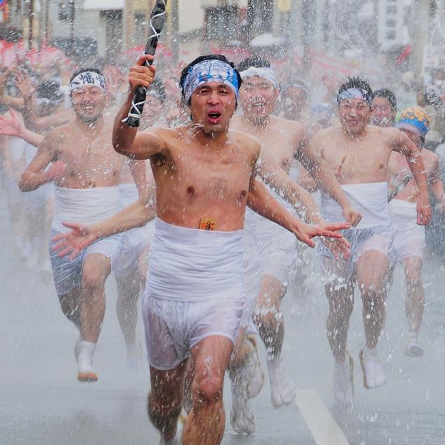 Daito Mizukake Festival