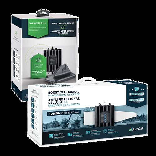 SureCall Fusion Professional & Fusion2Go Max Rural Performance Bundle Pack