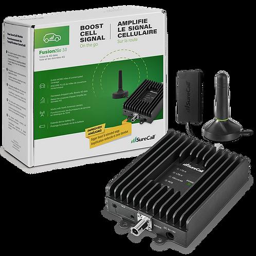 SureCall Fusion2Go 3.0 Signal Booster for Cars & Trucks - SC-Fusion2Go3-CA