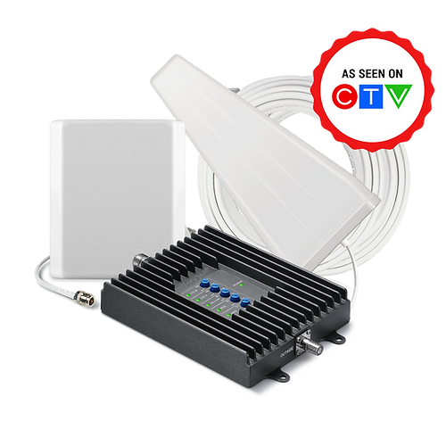 SureCall Fusion4Home 3.0 Home/Cottage Signal Booster - SC-PolyH3-72-YP-C