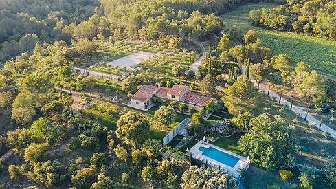 Domaine Monte Verdi séjour luxe yoga en provence nature vignes piscine calme détente