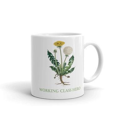Working Class Hero Dandelion Mug