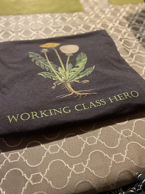 Working Class Hero Dandelion Tee