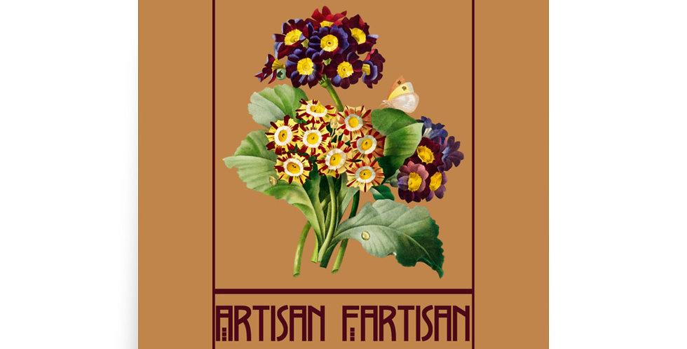Artisan Fartisan Coreopsis Poster