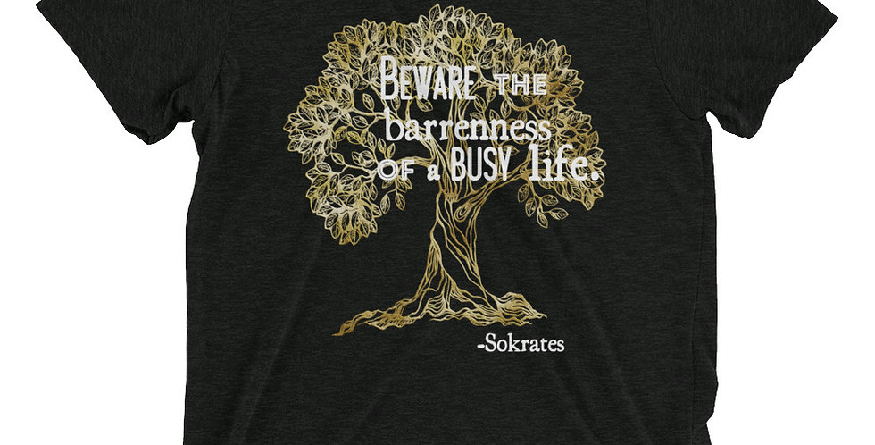 Thessaly Quote Olive Tree Tee