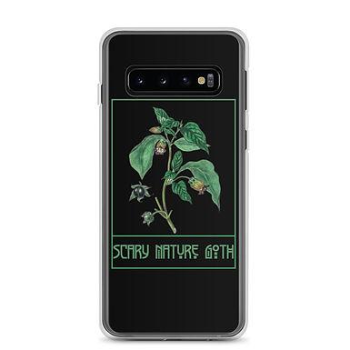 Scary Nature Goth Belladonna Samsung Case
