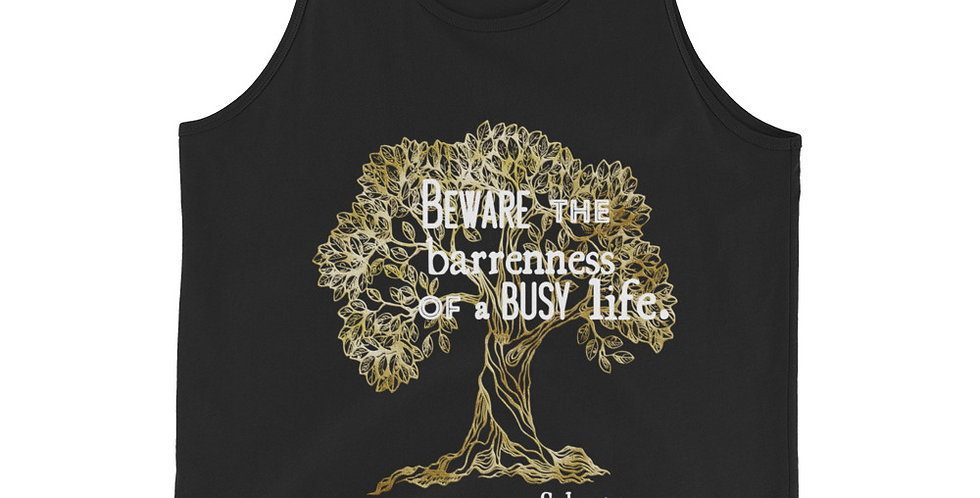 Thessaly Quote Olive Tree Tank