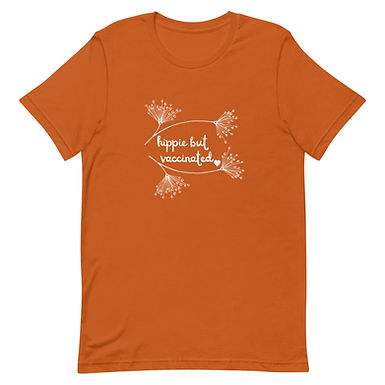 Hippie But Vaccinated Tee